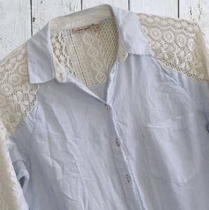 Holding Horses, Anthropologie Button Down Top